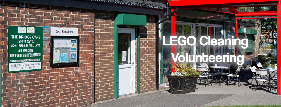 The Bridge Cafe – LEGO cleaning Volunteering